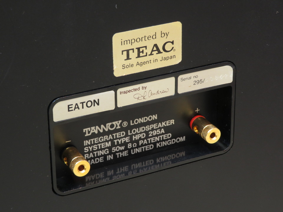 EATON TANNOY 画像