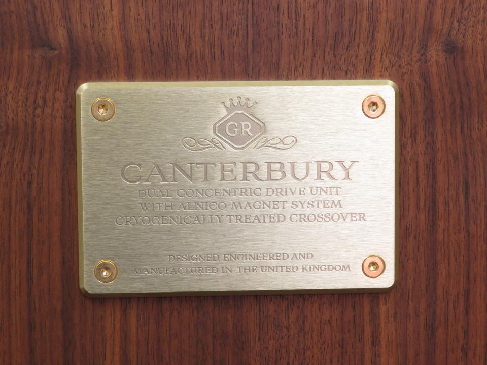 CANTERBURY/GR TANNOY 画像