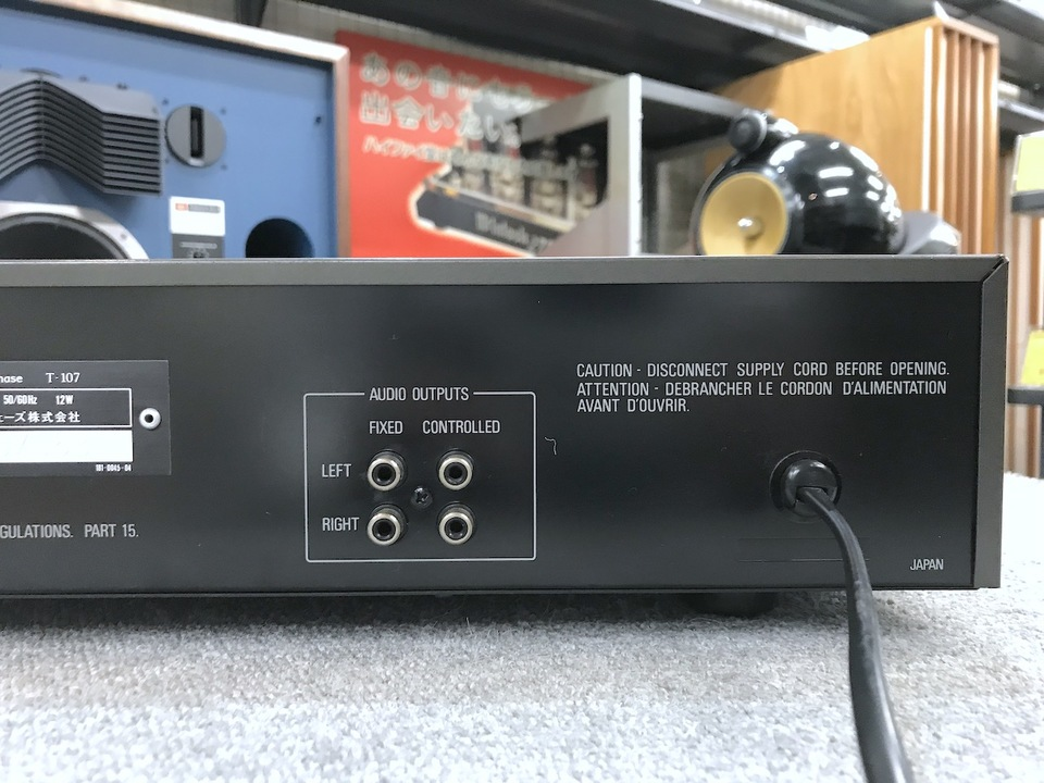T-107 Accuphase 画像