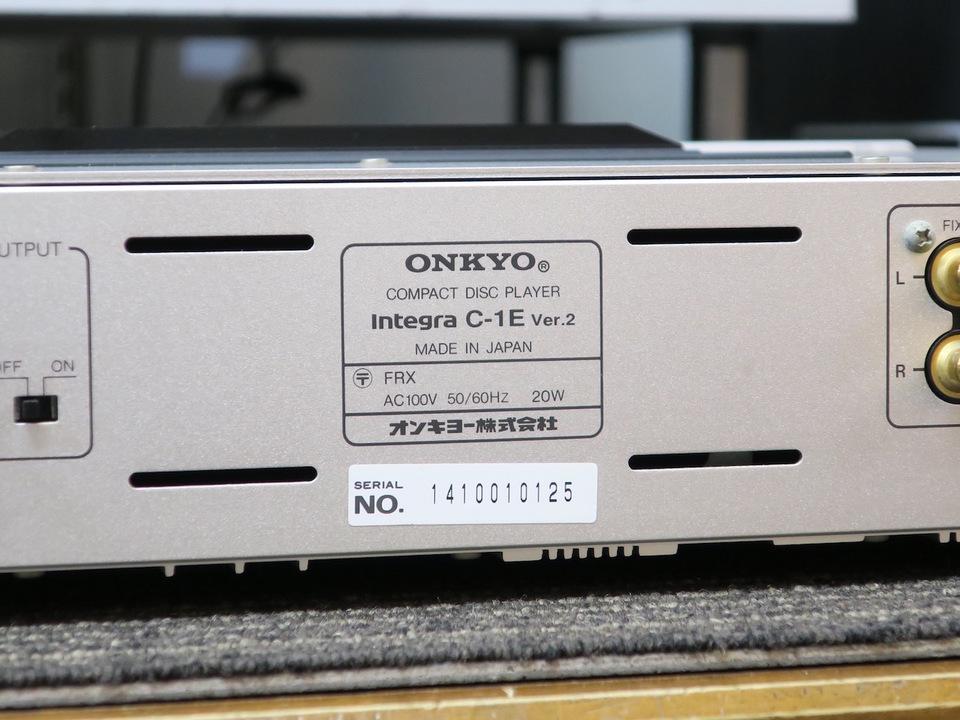 Integra C-1E ver.2 ONKYO 画像