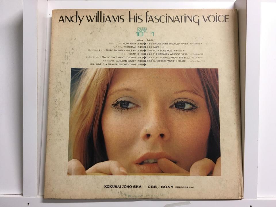 アンディ・ウィリアムス5枚セット  画像