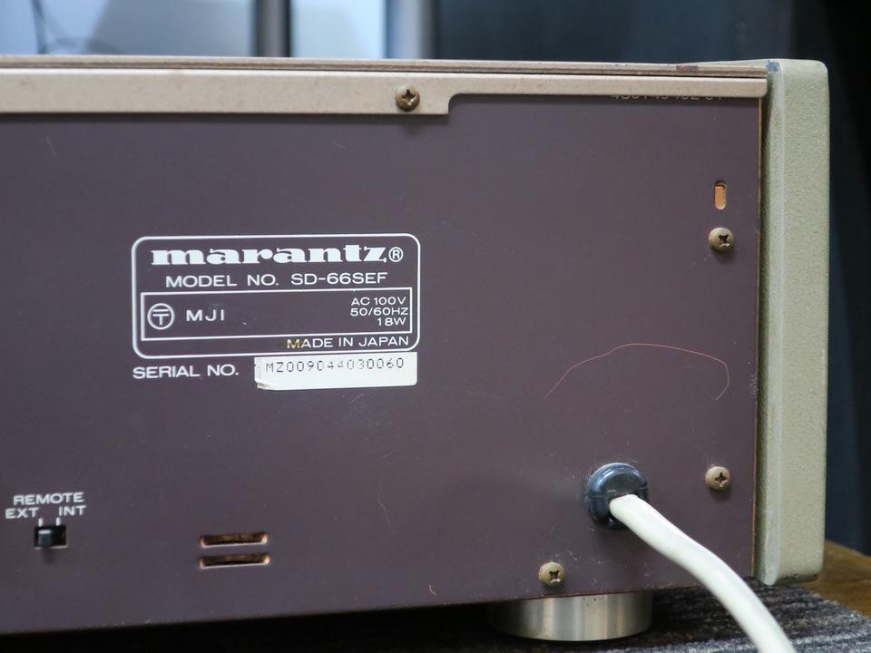 SD-66SE marantz 画像
