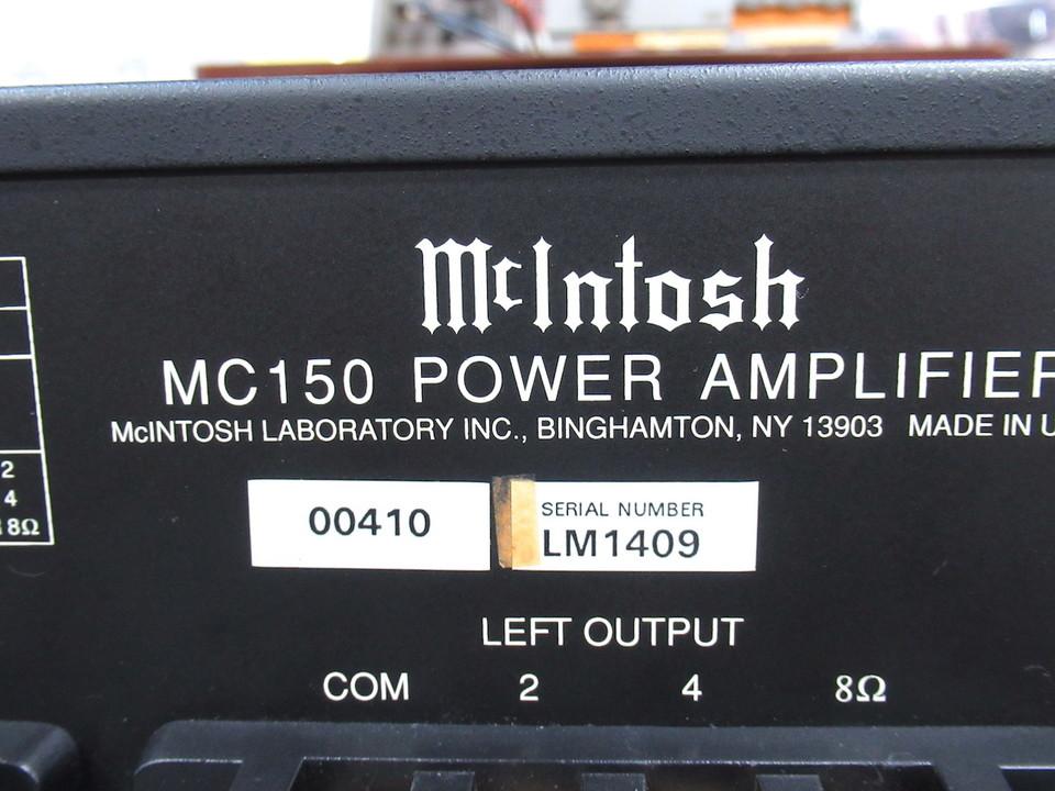 MC150 McIntosh 画像