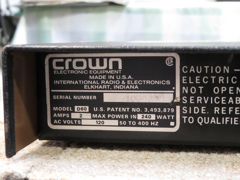 D-60 CROWN 画像