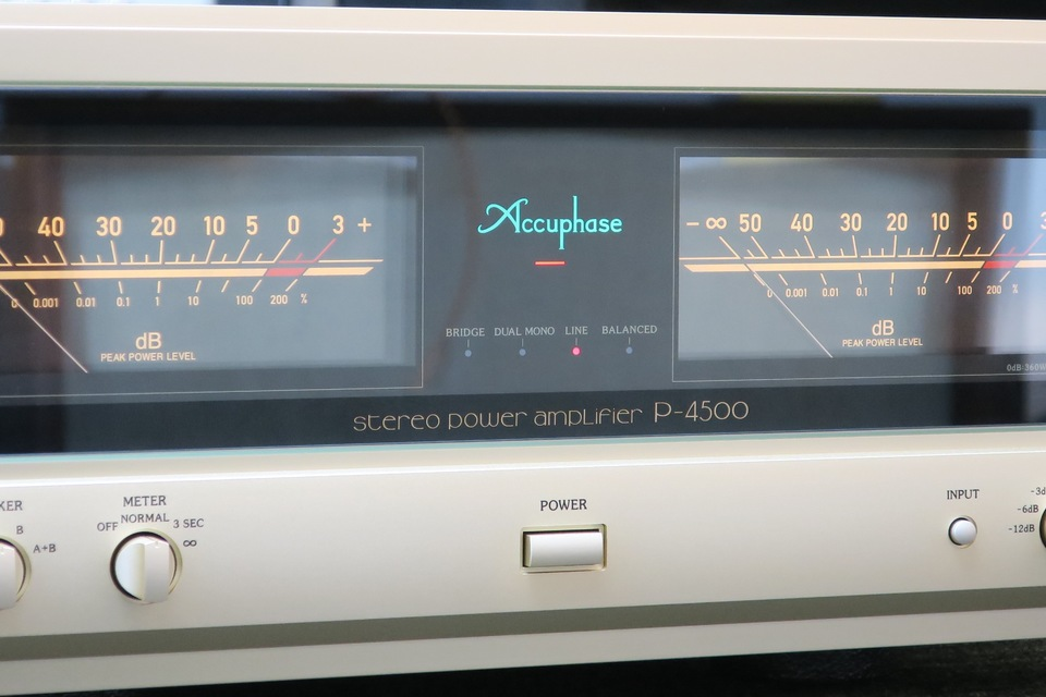 P-4500 Accuphase 画像
