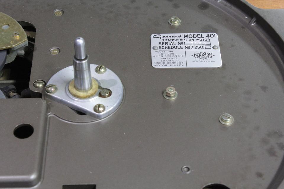 401+3012 Series2 GARRARD 画像