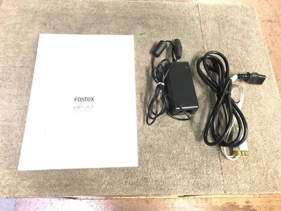 HP-A7 FOSTEX 画像