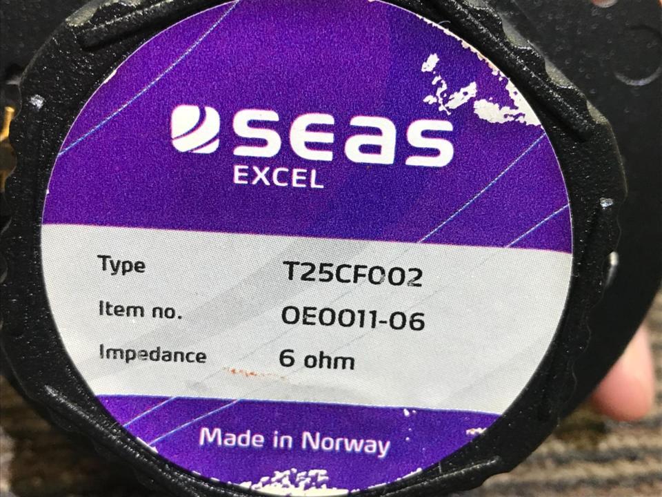 T25CF002 SEAS 画像
