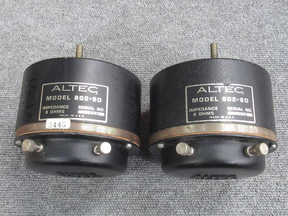 802-8D ALTEC 画像