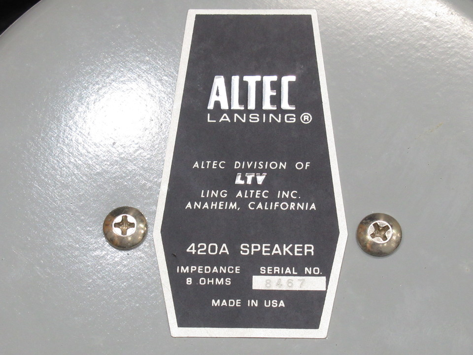 420A ALTEC 画像