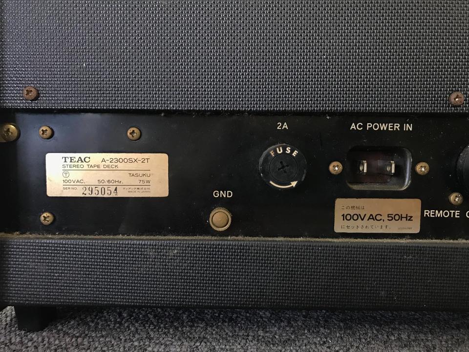 A-2300SX TEAC 画像