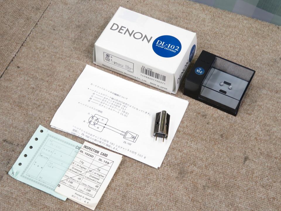 DL-102 DENON 画像