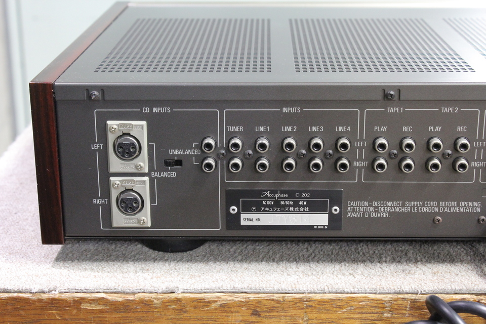 C-202 Accuphase 画像
