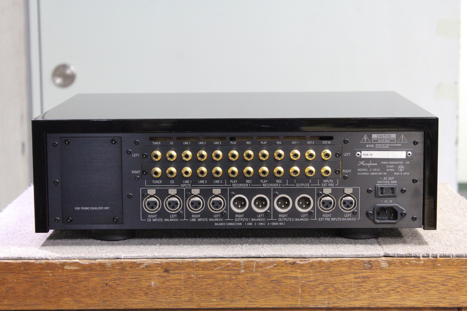 C-2810 Accuphase 画像