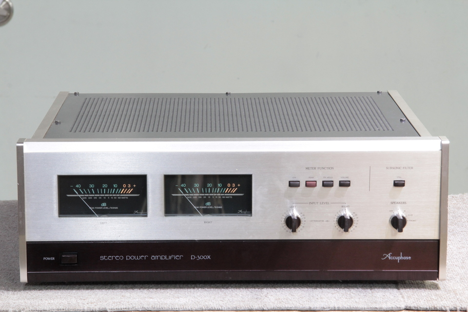 P-300X Accuphase 画像
