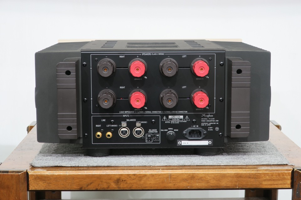 P-6100 Accuphase 画像