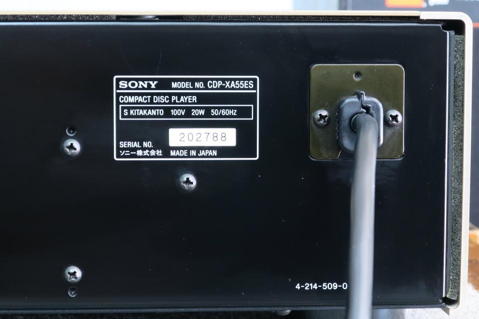 CDP-XA55ES SONY 画像