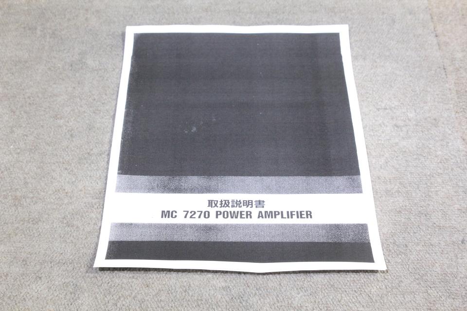 MC7270 McIntosh 画像