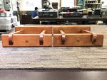 ブックシェルフ用木製スピーカースタンド