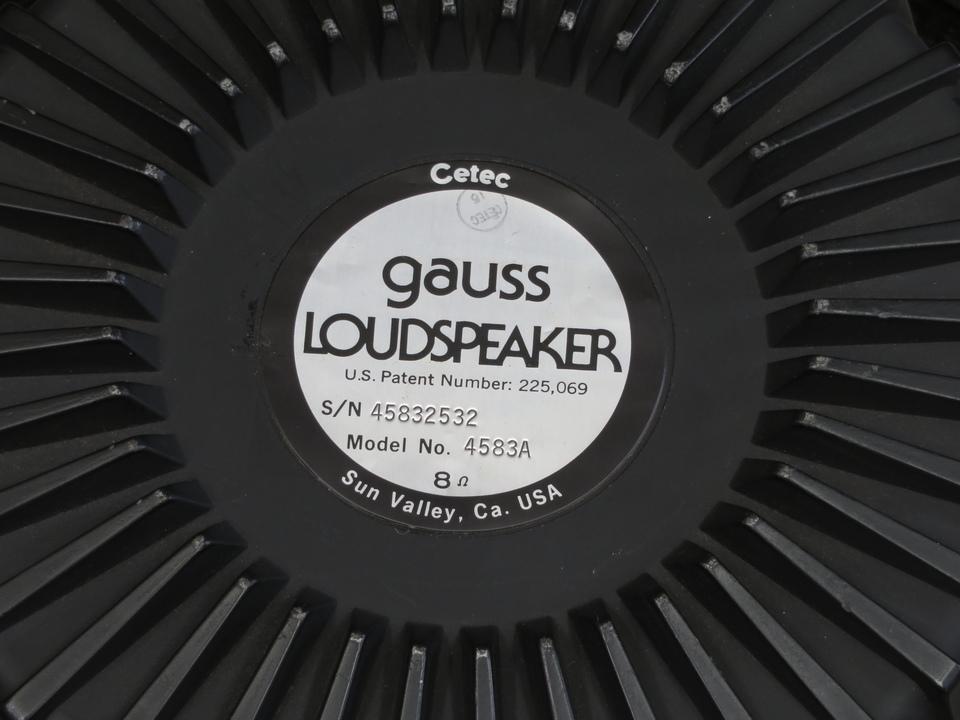 4583A GAUSS 画像