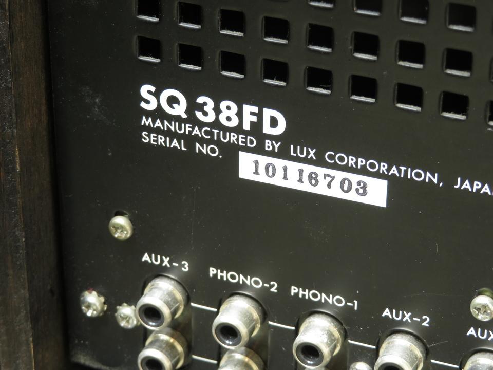 SQ38FD LUXMAN 画像