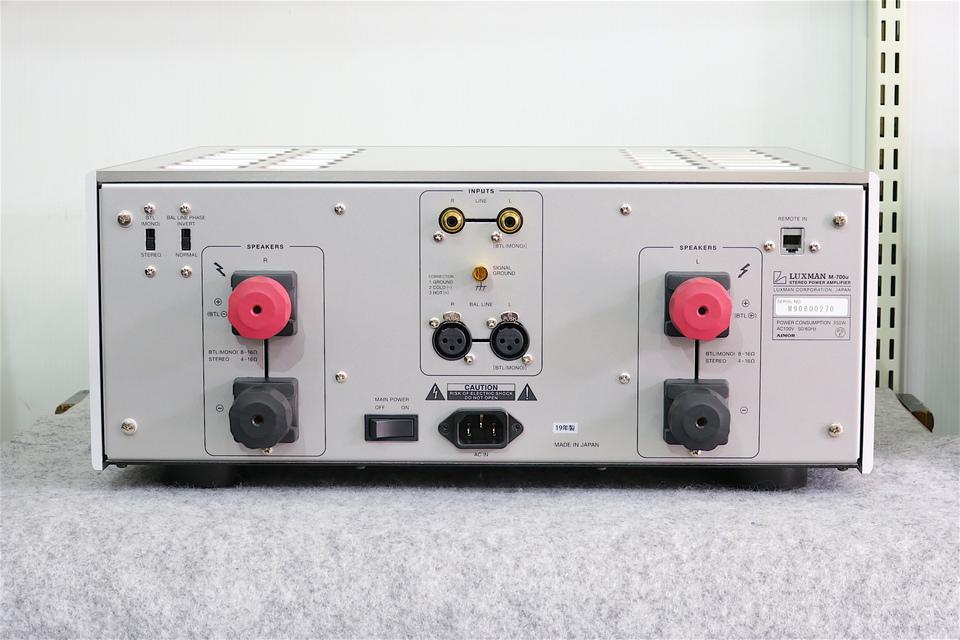 M-700u LUXMAN 画像