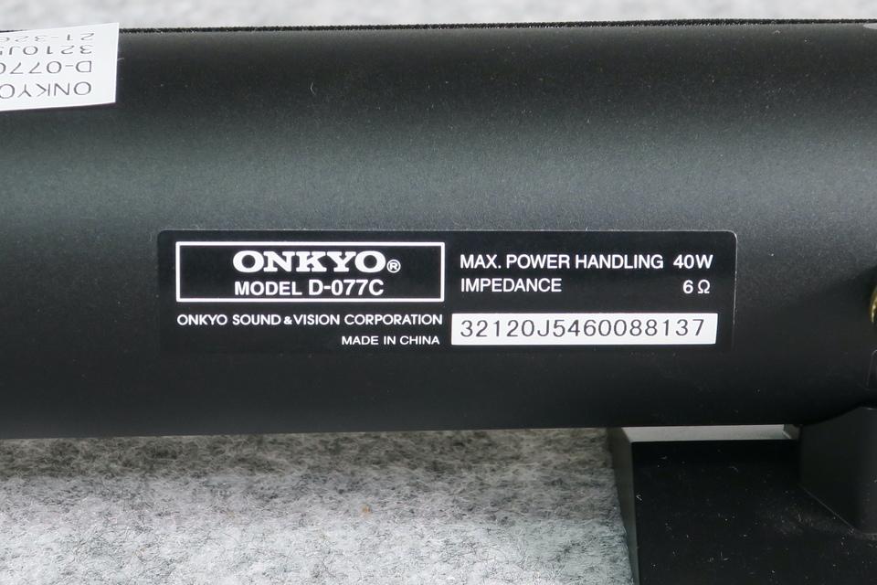 D-077C ONKYO 画像