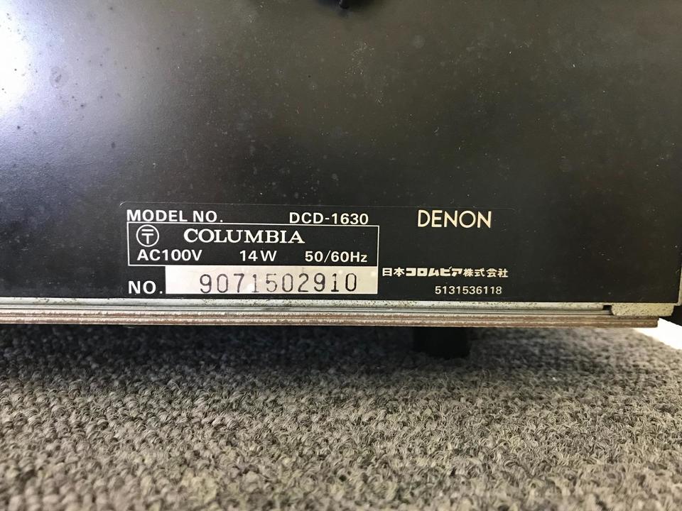DCD-1630 DENON 画像