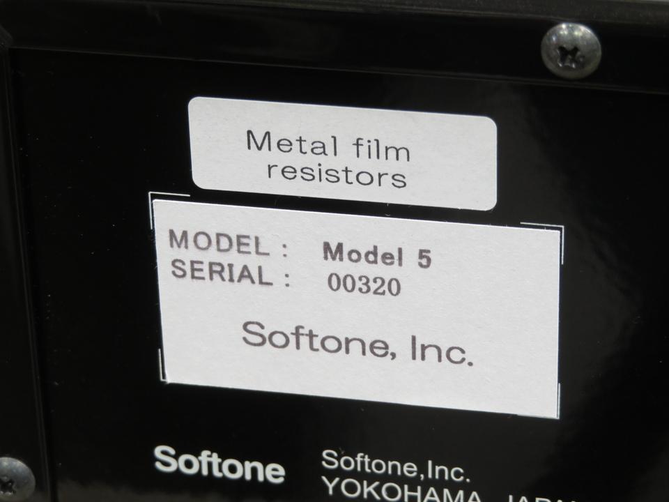 Model 5 SOFTONE 画像