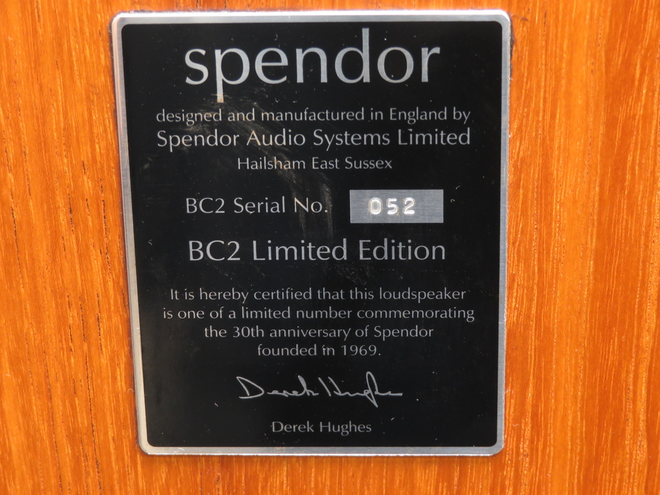 BC2 Limited Edition Spendor 画像