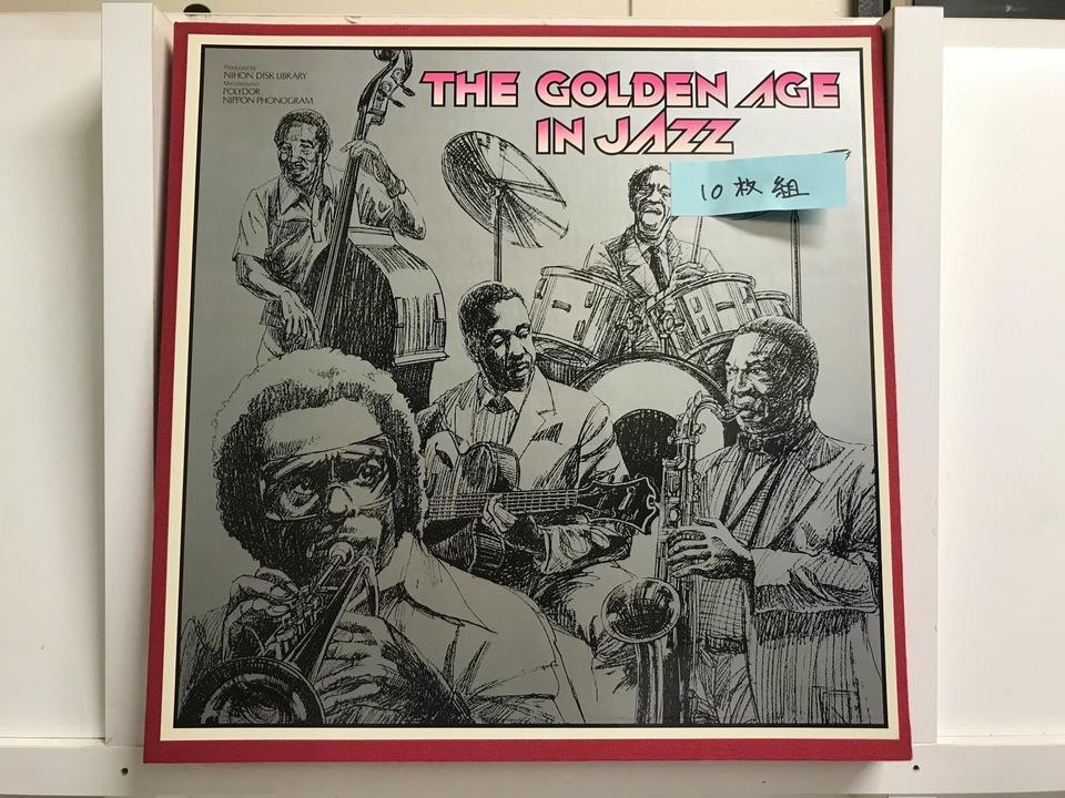 THE GOLDEN AGE IN JAZZ10枚組  画像