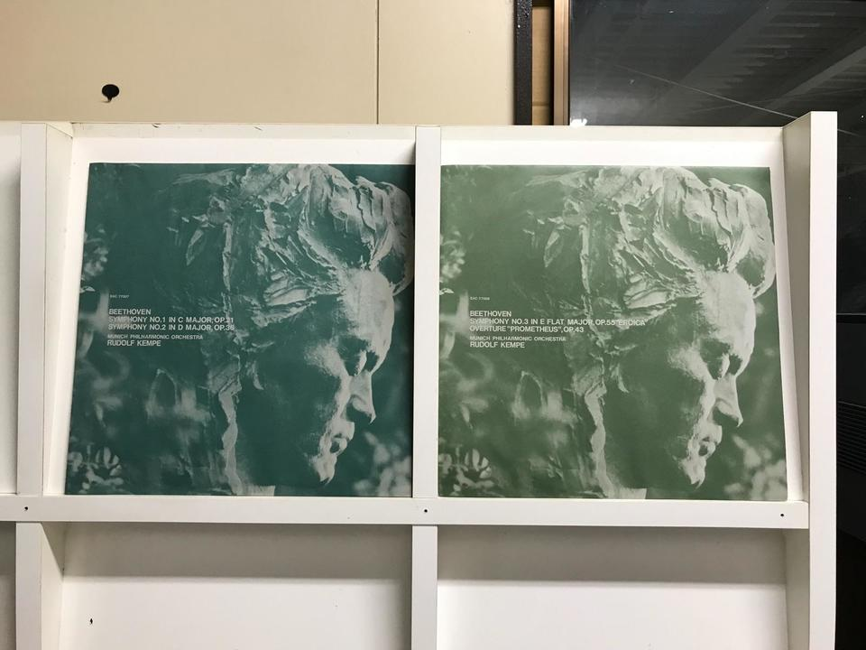 ルドルフ・ケンペ ベートーヴェン交響曲全集8枚組  画像