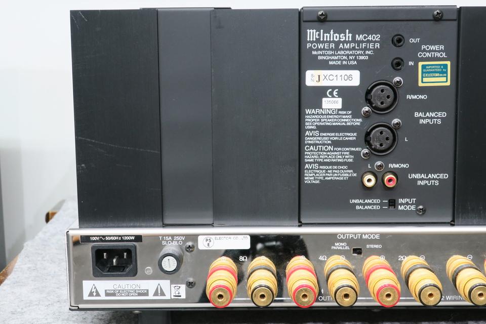 MC402 McIntosh 画像