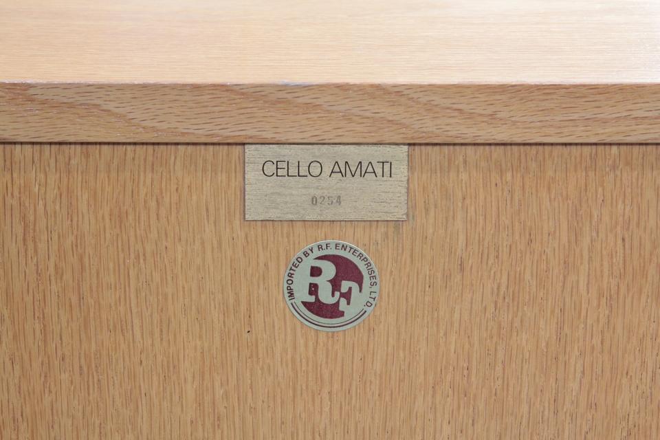 Amati Cello 画像
