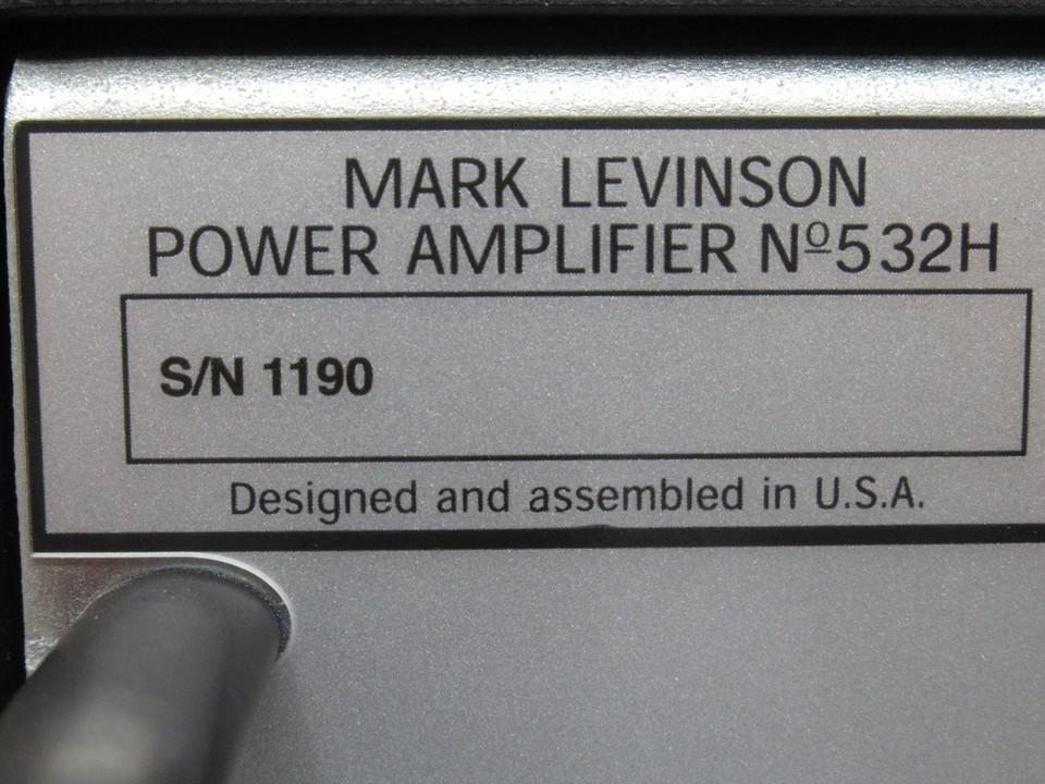 No.532H Mark Levinson 画像