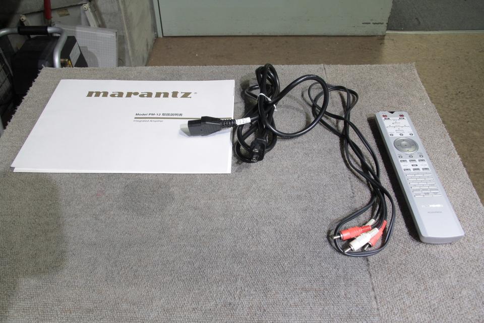 PM-12 marantz 画像