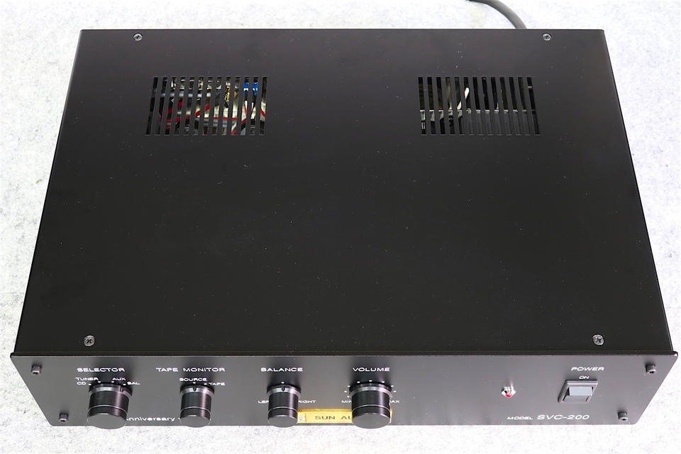 SVC-200 20th Anniversary version SUN AUDIO 画像