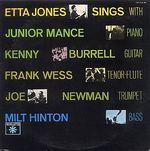 ETTA JONES SINGS